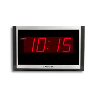 Retro Decades Karlsson Big Digital Clock
